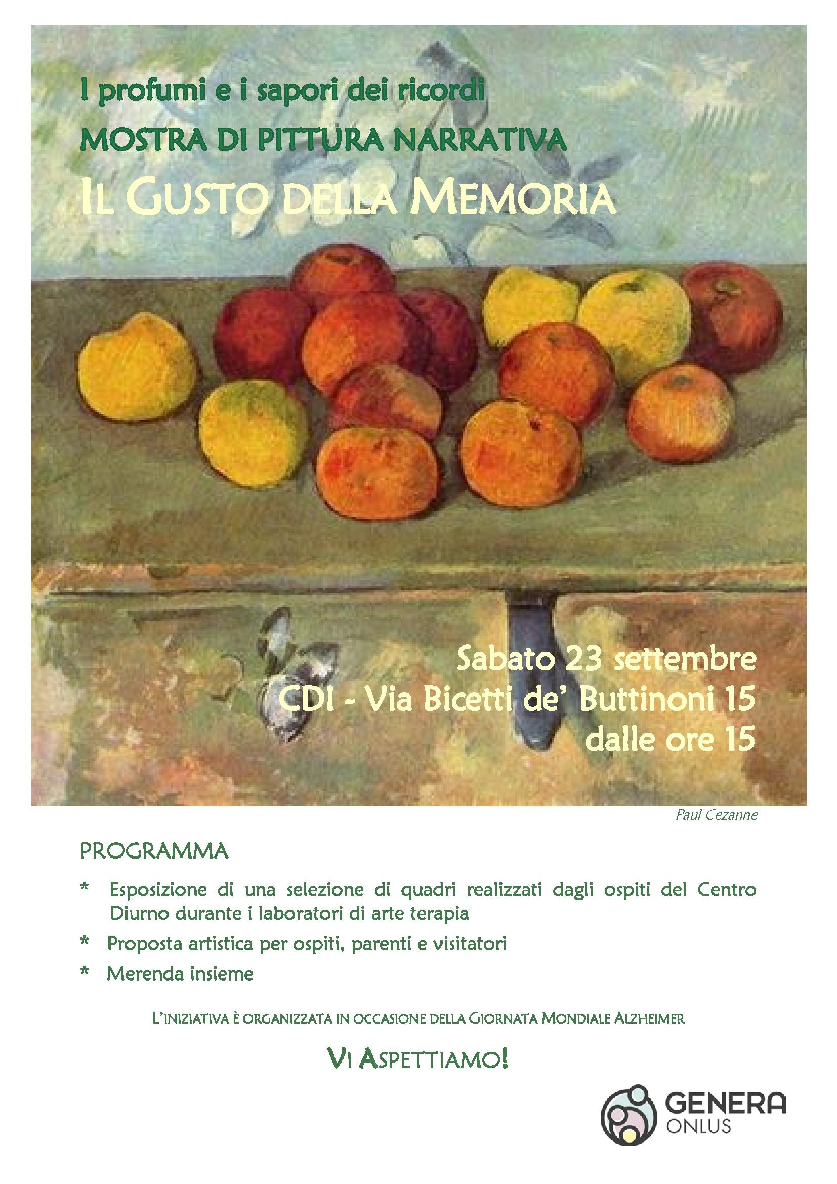 locandina gusto memoria 23 sett