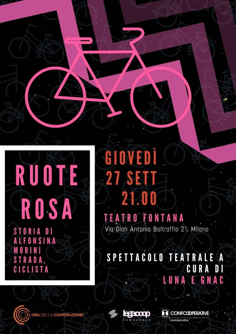 Spettacolo Teatrale_Ruote rosa